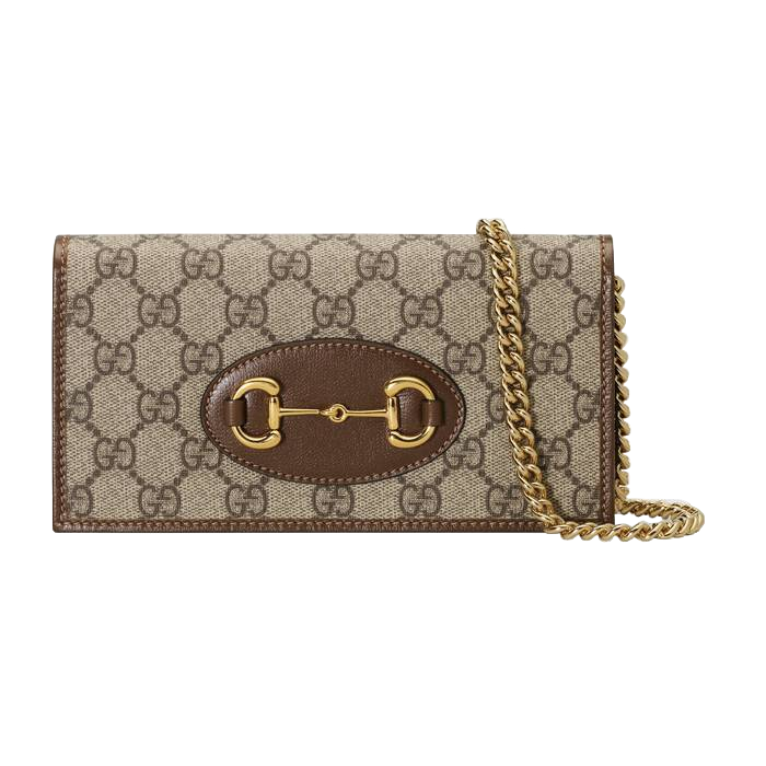 유럽직배송 구찌 체인 지갑 GUCCI 1955 Horsebit wallet with chain 62189292TCG8563