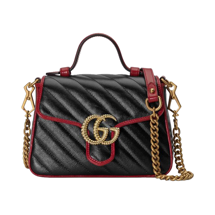 유럽직배송 구찌 토트백 GUCCI GG Marmont mini top handle bag 5835710OLFX8277