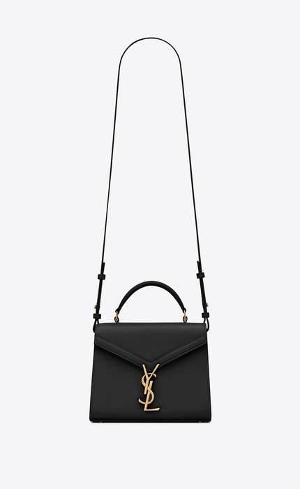 유럽직배송 입생로랑 SAINT LAURENT CASSANDRA Mini top handle bag in grain de poudre embossed leather 623930BOWNW1048