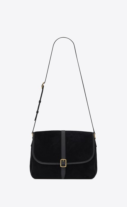 유럽직배송 입생로랑 SAINT LAURENT SORBONNE flap bag in suede and vintage leather 6347910UDZW1000