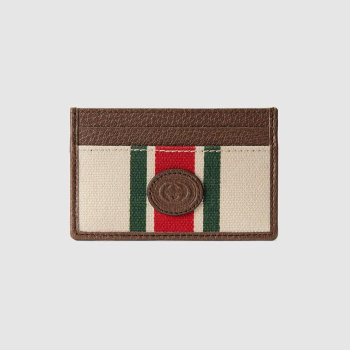 유럽직배송 구찌 GUCCI Gucci Card case with Web 6586942U2AG8686