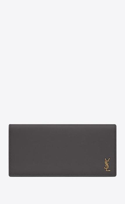 유럽직배송 입생로랑 SAINT LAURENT tiny monogram continental wallet in grained leather 63554215B0W1112