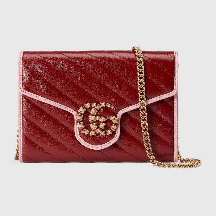 유럽직배송 구찌 GUCCI Gucci GG Marmont mini chain bag 5738071X5EG6476