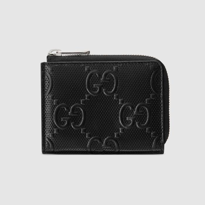 유럽직배송 구찌 GUCCI Gucci GG embossed mini wallet 6575711W3AN1000